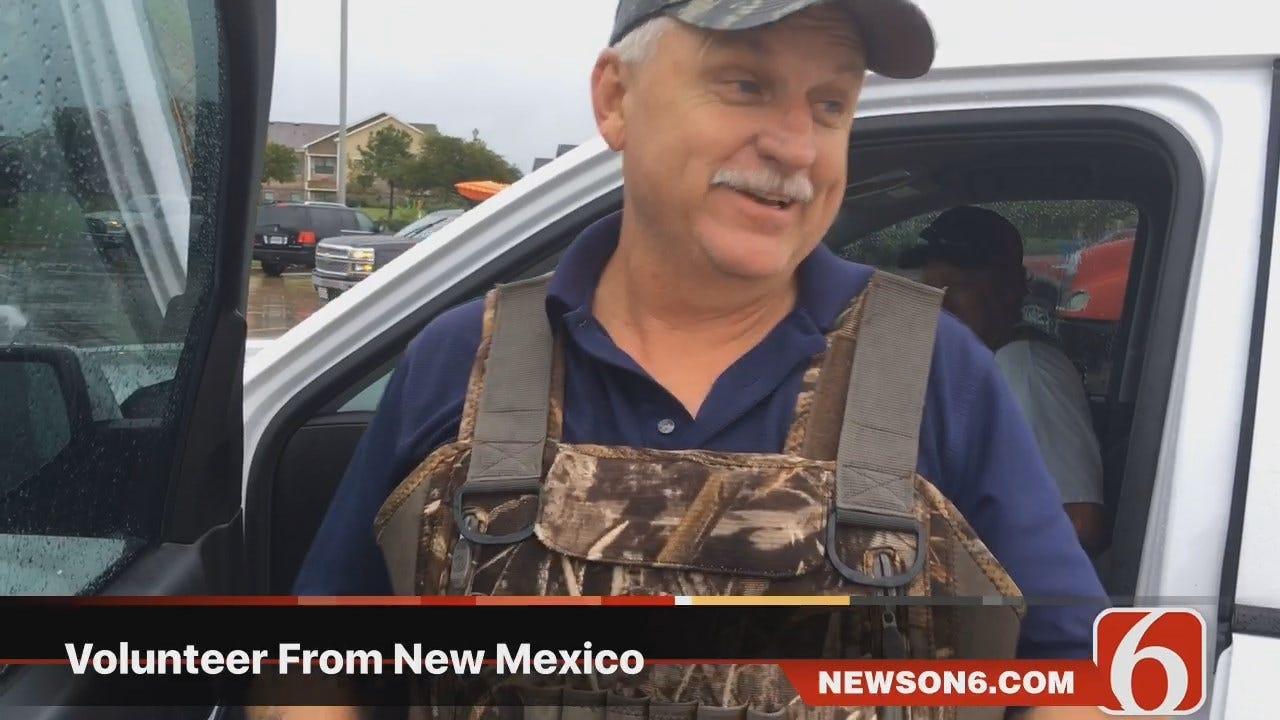 Darren Stephens: Water Rescue Volunteers Step Up In Houston
