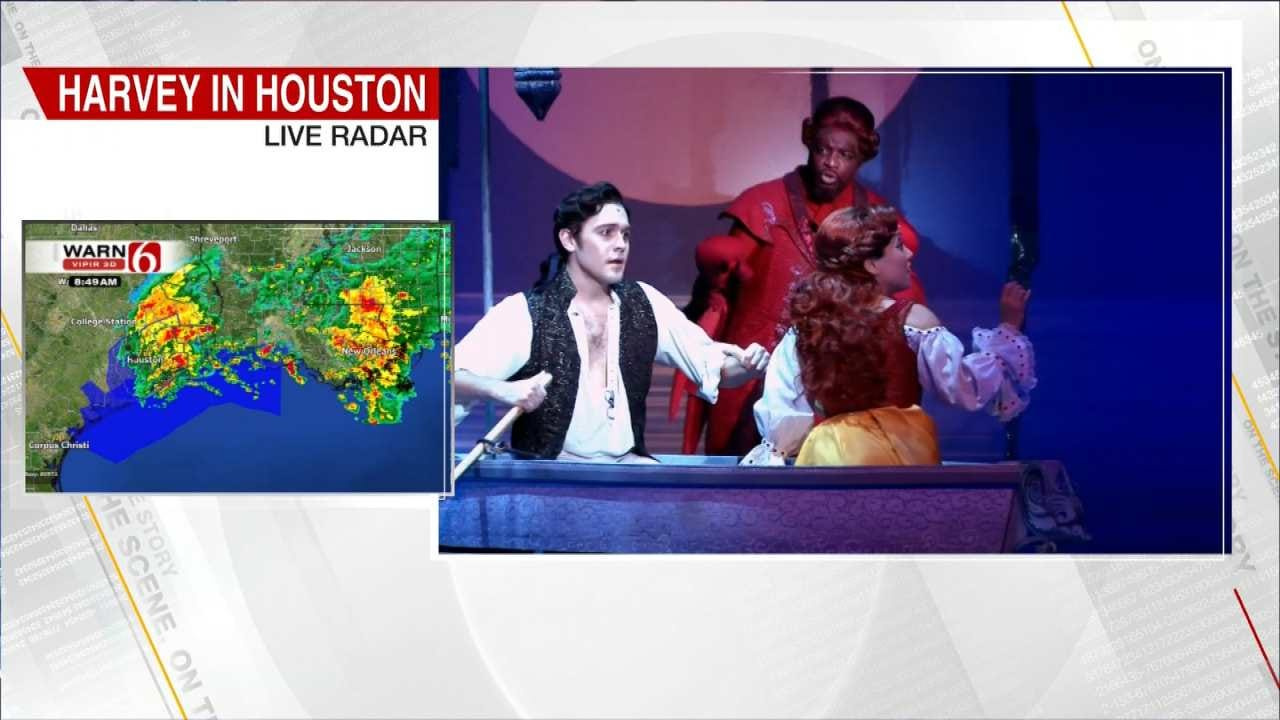 Stars Of The Broadway Play, 'The Little Mermaid' Visit 6 In The Morning