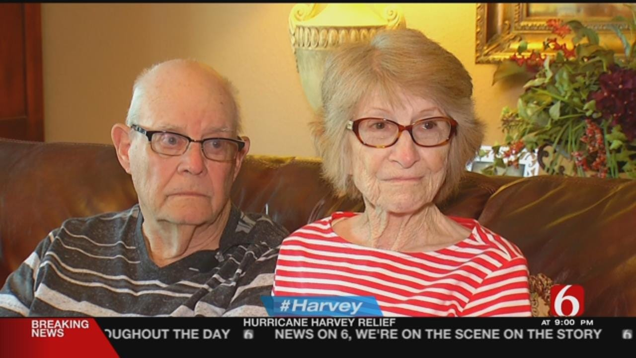 Texas Residents Seek Shelter With Sand Springs Family