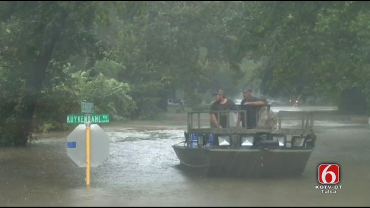 News On 6 Storm Tracker Video: Rescues Underway In Spring, Texas