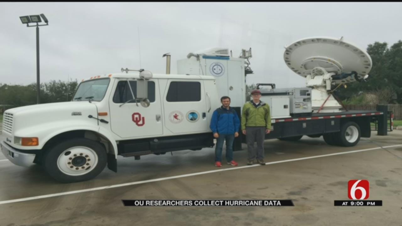 Team Of OU Weather Researchers Come Back After Collecting Hurricane Data