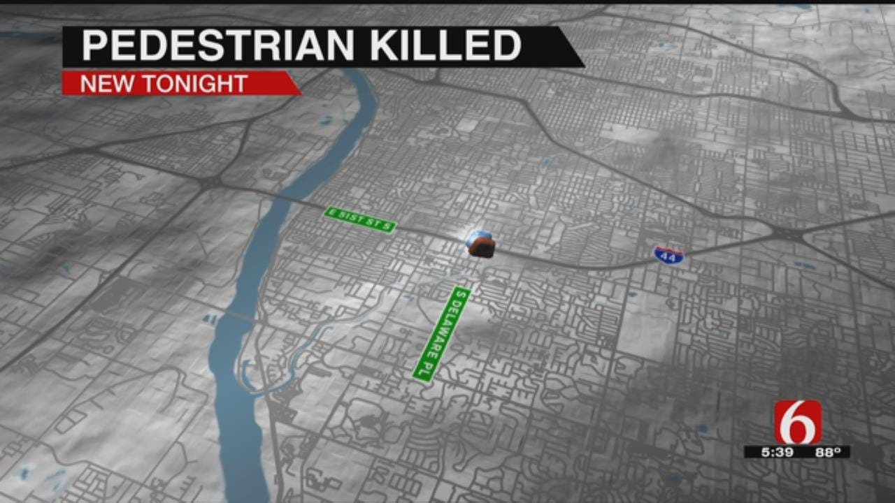 Tulsa Pedestrian Hit By Driver Dies In Hospital Over Night