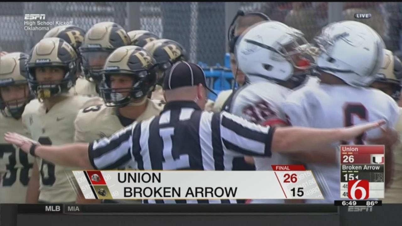 Union Beats Broken Arrow In Nationally Televised Matchup