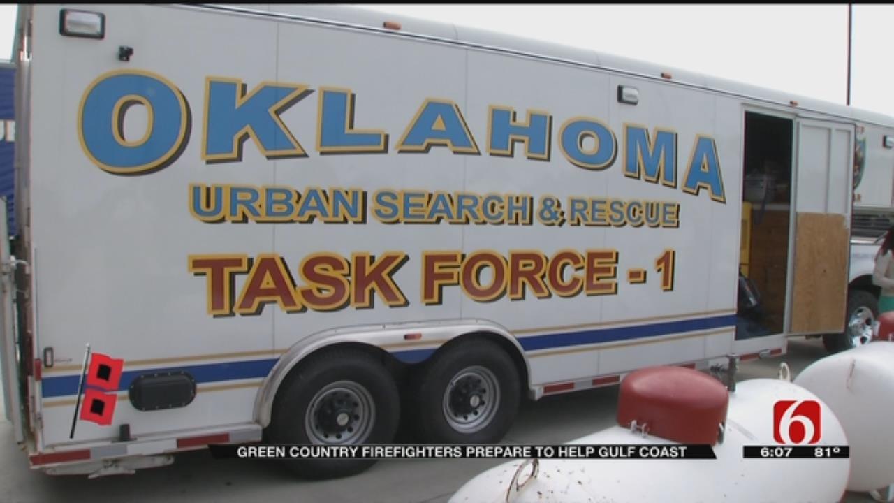 Tulsa Fire Rescue Team Heads To Texas For Hurricane Harvey