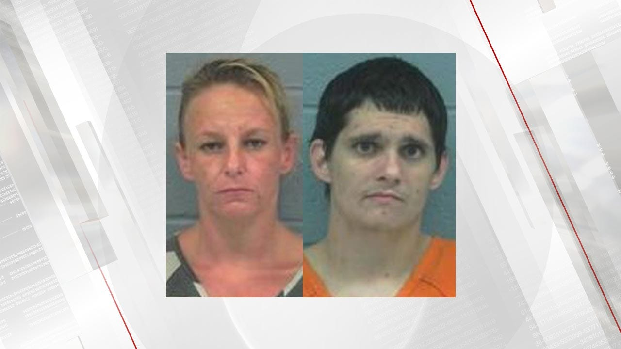 Lori Fullbright: 2-Year-Old Tests Positive For Meth; Rogers County Couple Arrested