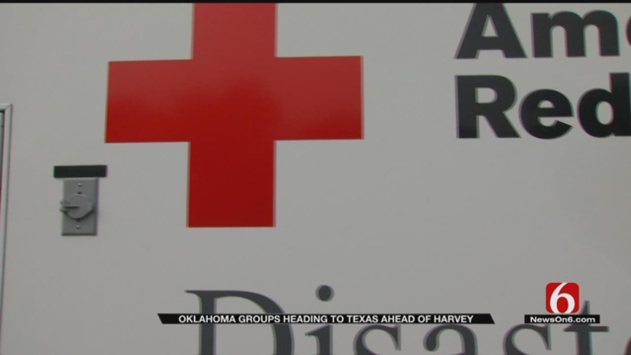 Oklahoma Emergency Crews Head To Texas Ahead Of Hurricane Harvey