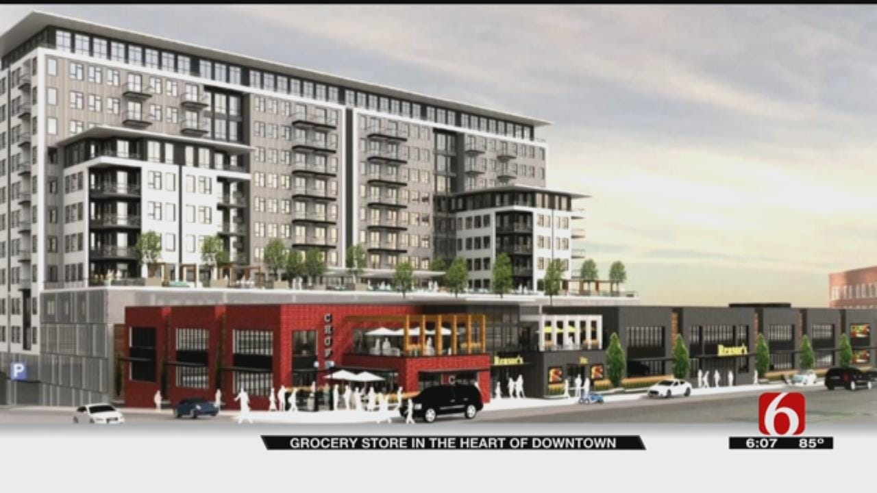Grocery Store, Developments Coming To Downtown Tulsa
