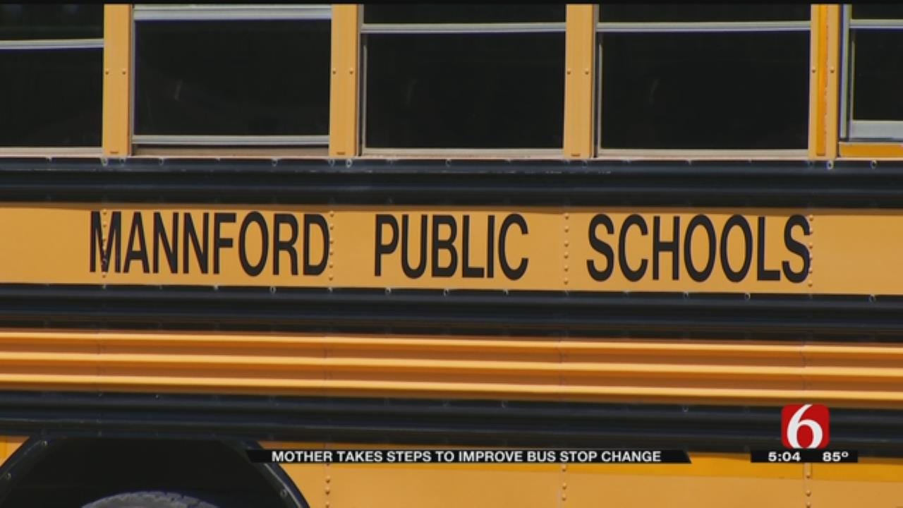 Mannford Mom Takes Matters Into Own Hands After Bus Stop Issues