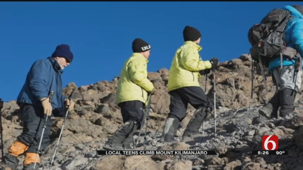 Tulsans Among Youngest Mt. Kilimanjaro Climbers, Raise Thousands For African School