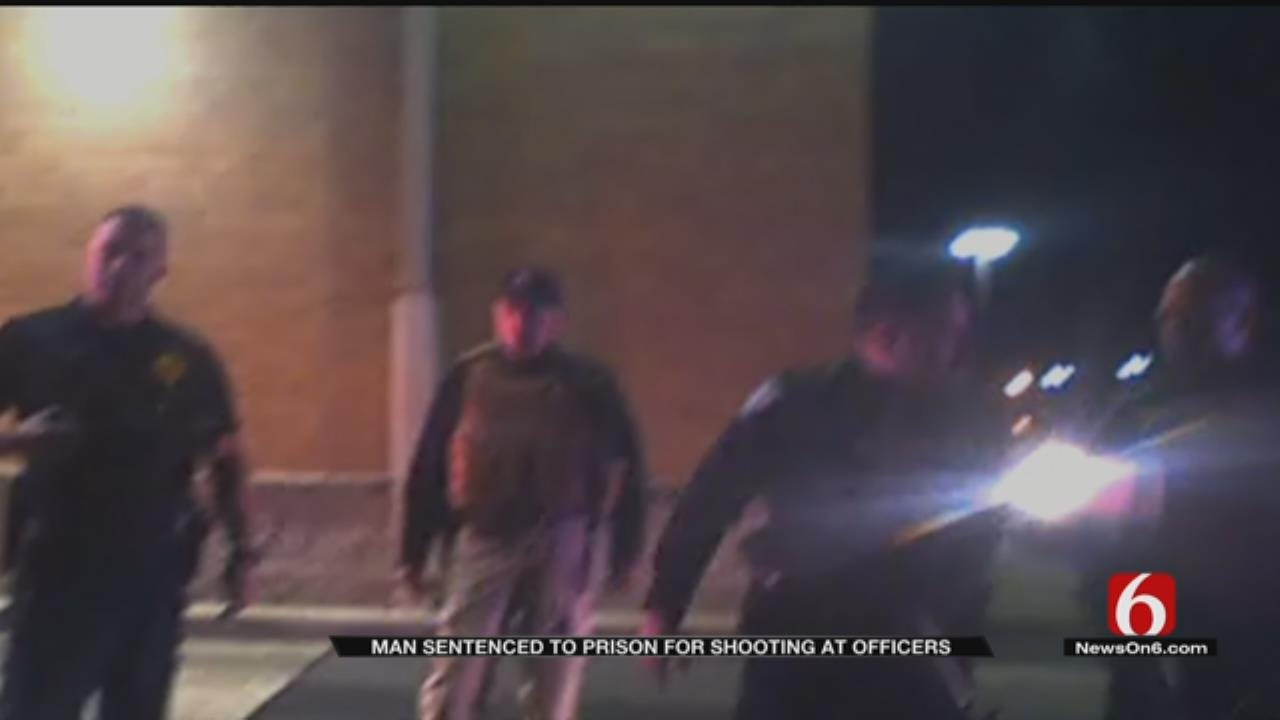 Man Sentenced To 20 Years For Shooting At Green Country Officers During Chase