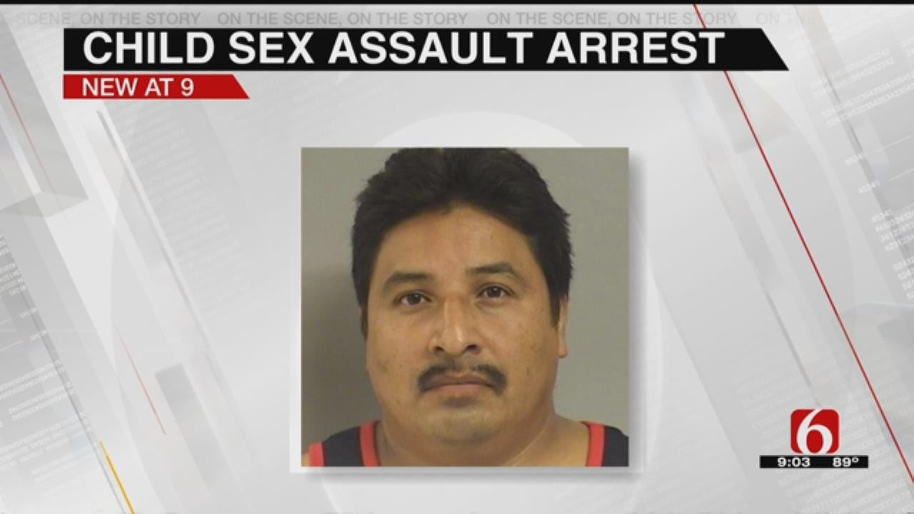 Man Arrested After Admitting Sexual Abuse Of Child In Tulsa