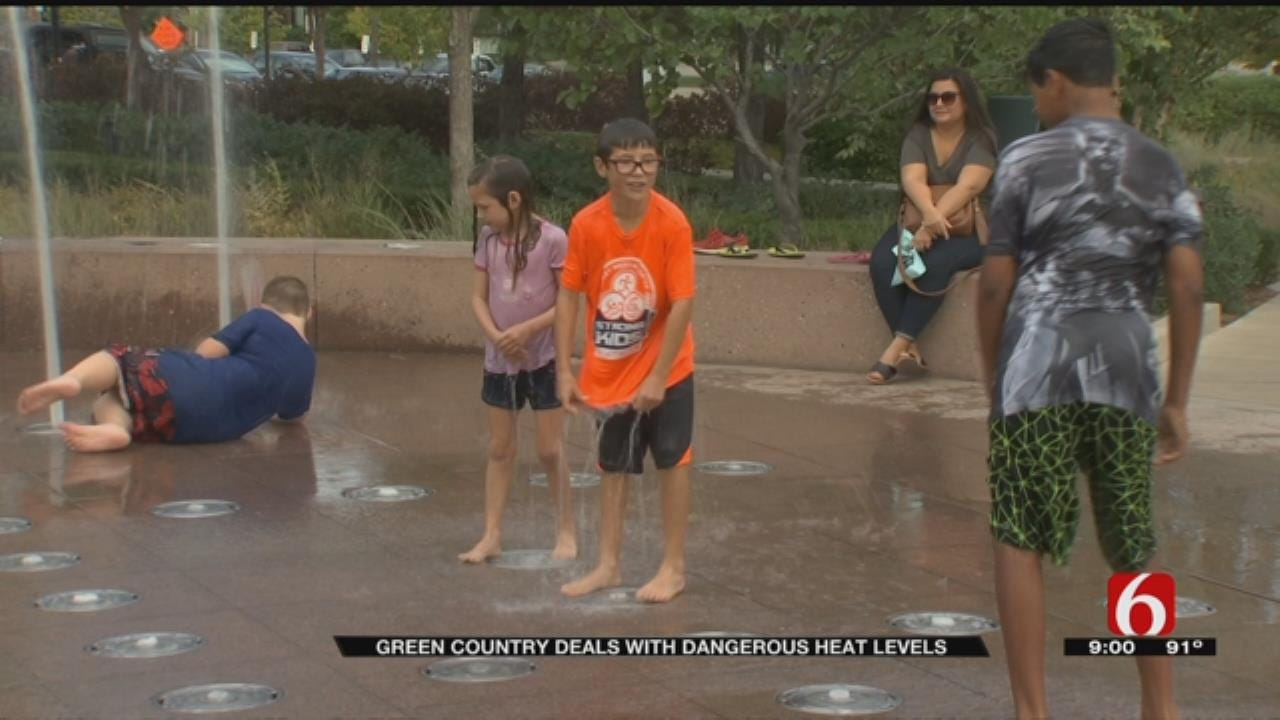 Tulsans Try To Beat The Heat