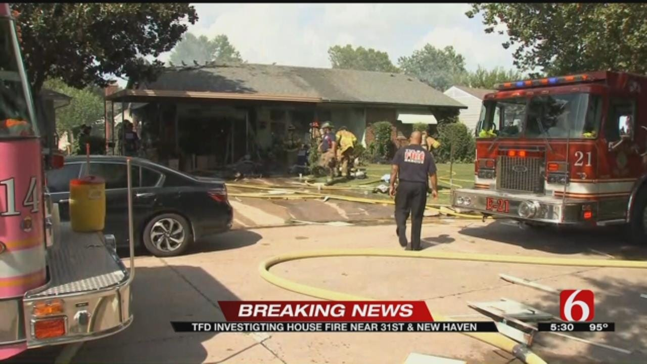 Three People Taken To Hospital From Tulsa House Fire
