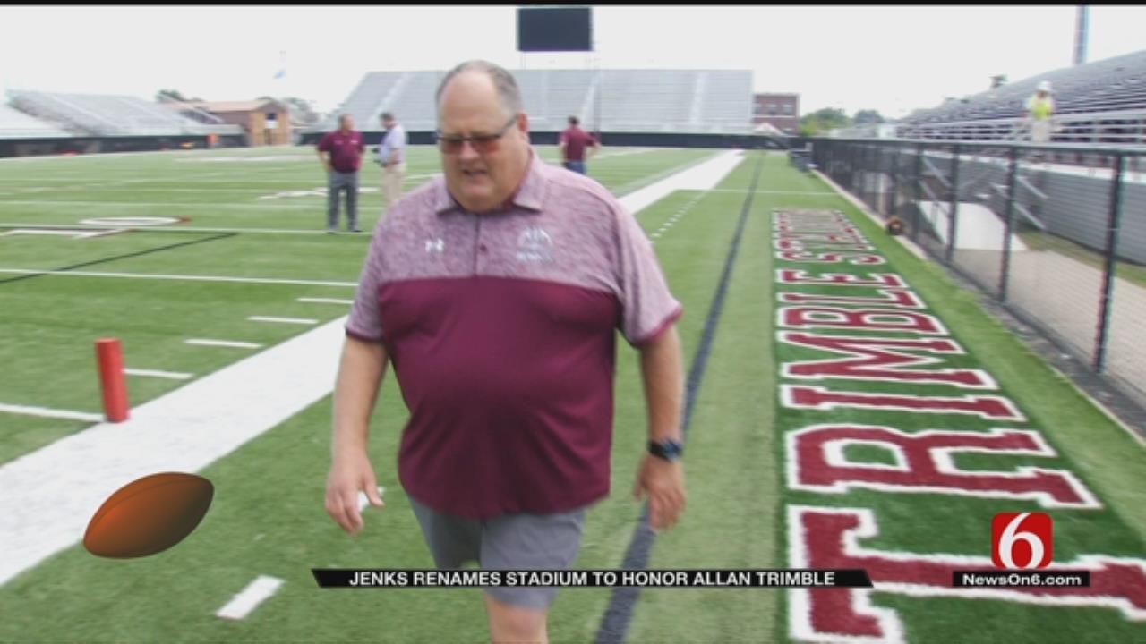 Jenks To Rename Stadium To Honor Coach Allan Trimble