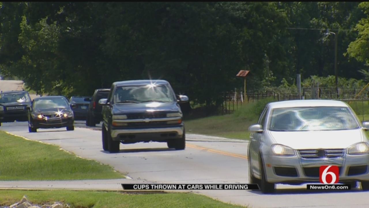 Tulsa Highway 'Prank' Leaves Windshields Smashed