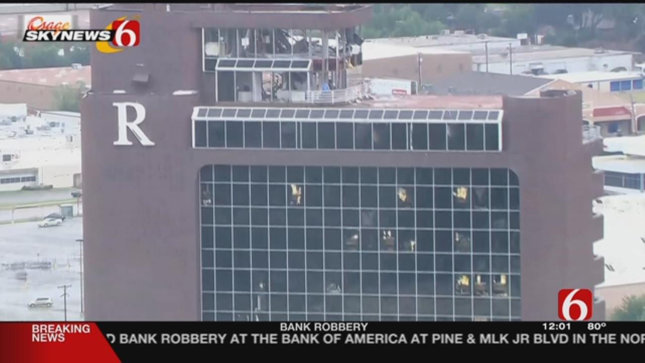 Tenants Can Retrieve Items From Tulsa's Tornado Damaged Remington Tower