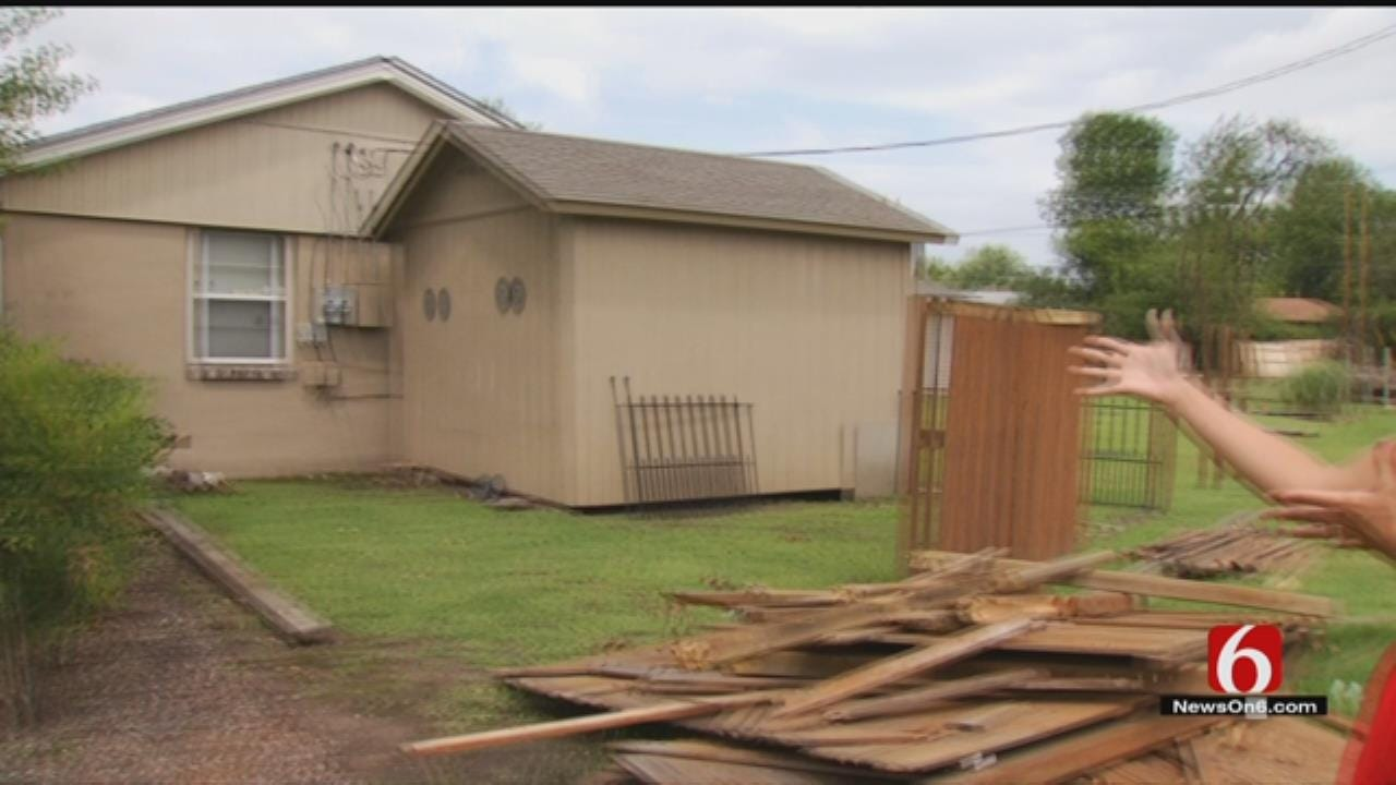 Tulsa Crews Still Cleaning Up Storm Damage In Tulsa-Area Neighborhoods