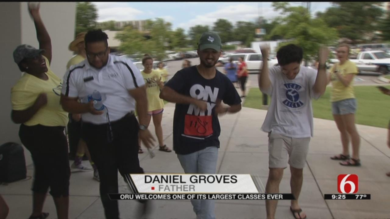WEB EXTRA: Record Number Of Students From Around World Move Into ORU Dorms