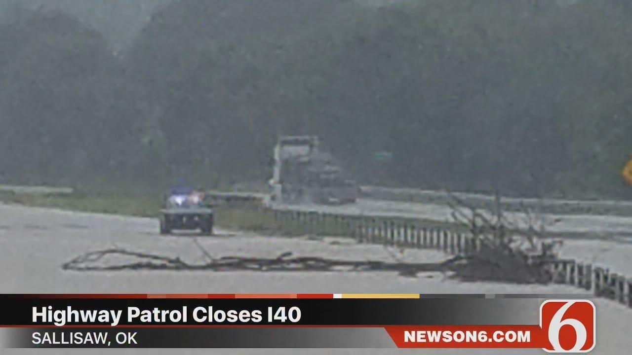 Darren Stephens: Sequoyah County Train Derailment, Flooding