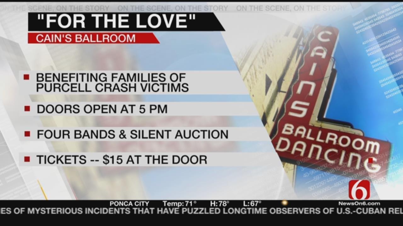 Cain's Ballroom To Host Benefit For Jenks Crash Victims