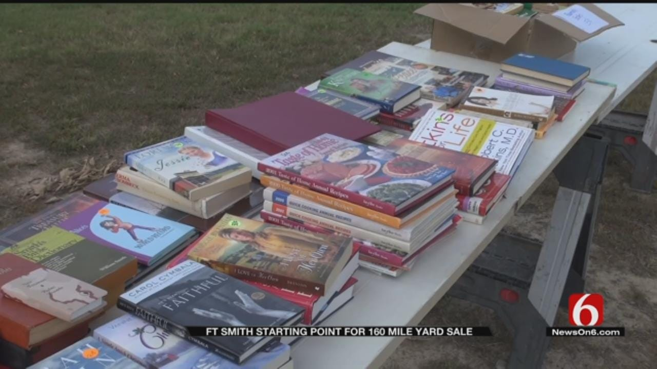 Yard Sale East Of Tulsa Stretches For 160 Miles