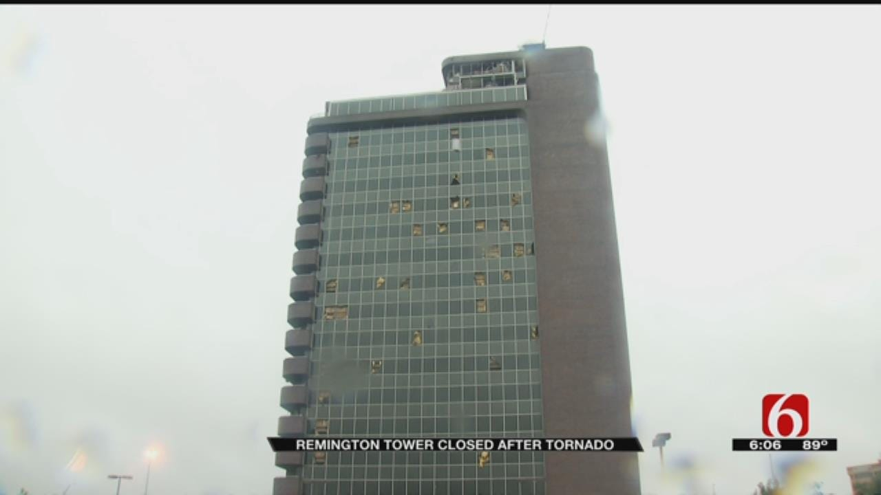 Tenants Frustrated They Can't Get Inside Tornado Damaged Remington Tower