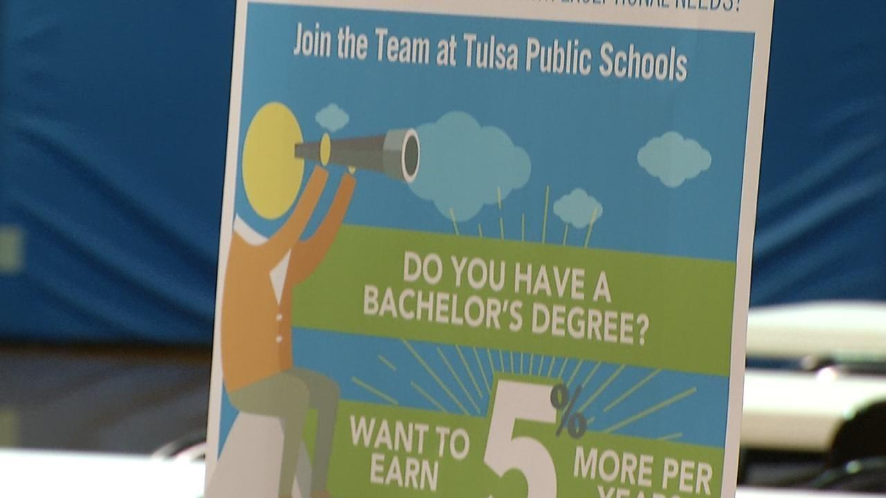 Tulsa Teacher Job Fair Continues Friday