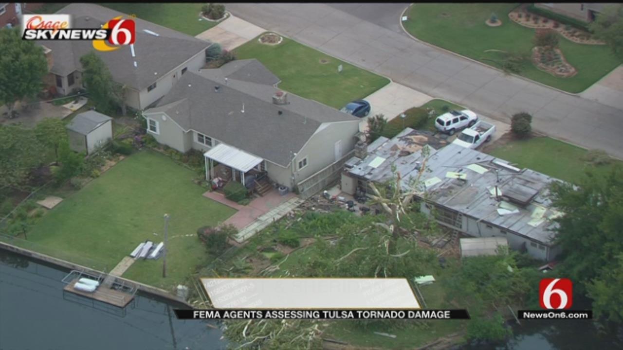 Emergency Management Agents Assess Tulsa's Tornado Damage