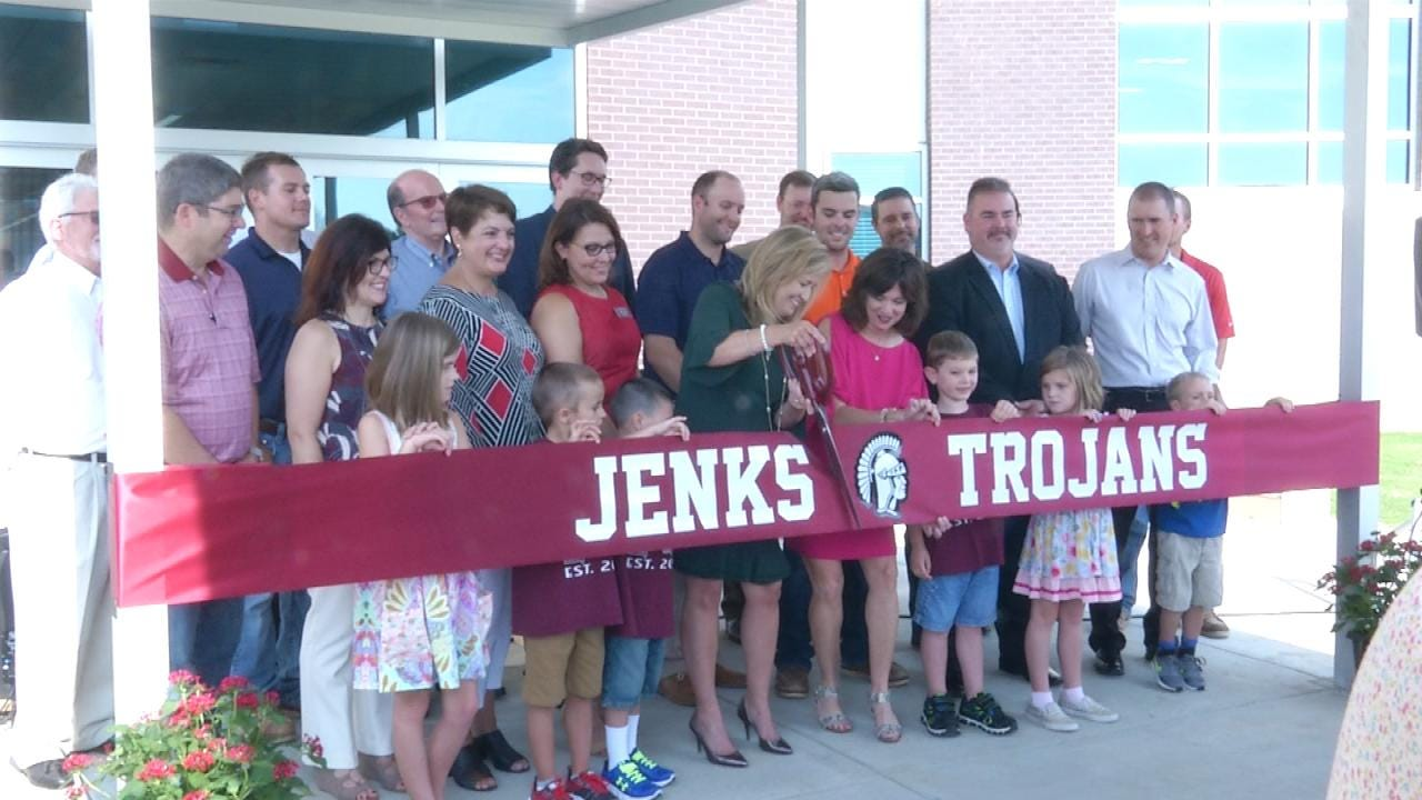 Construction Complete On Jenks' Northwest Elementary
