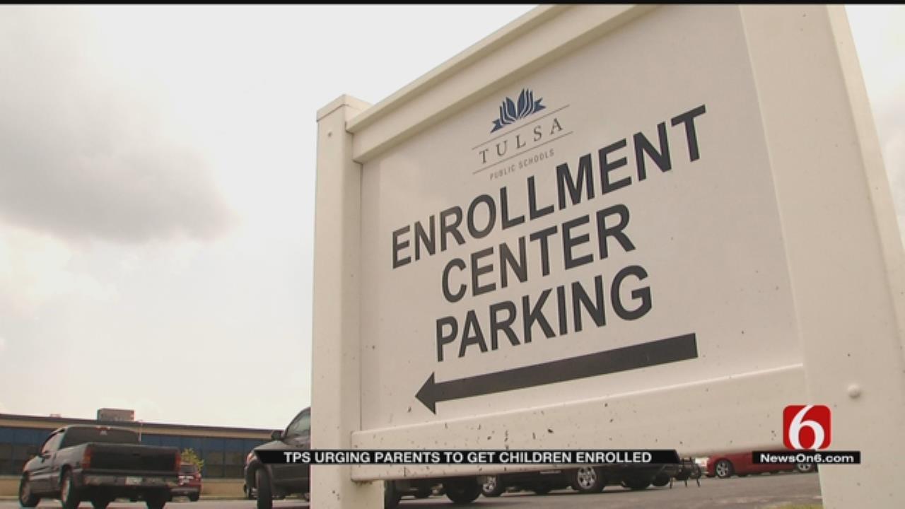 Tulsa Public Schools Urging Parents To Confirm Kids' Enrollment