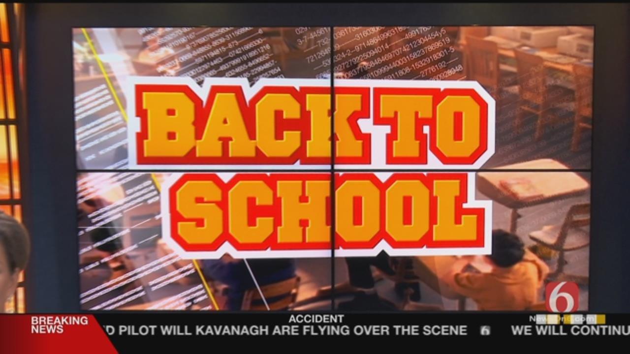 Tulsa-Area Kids Go Back To School
