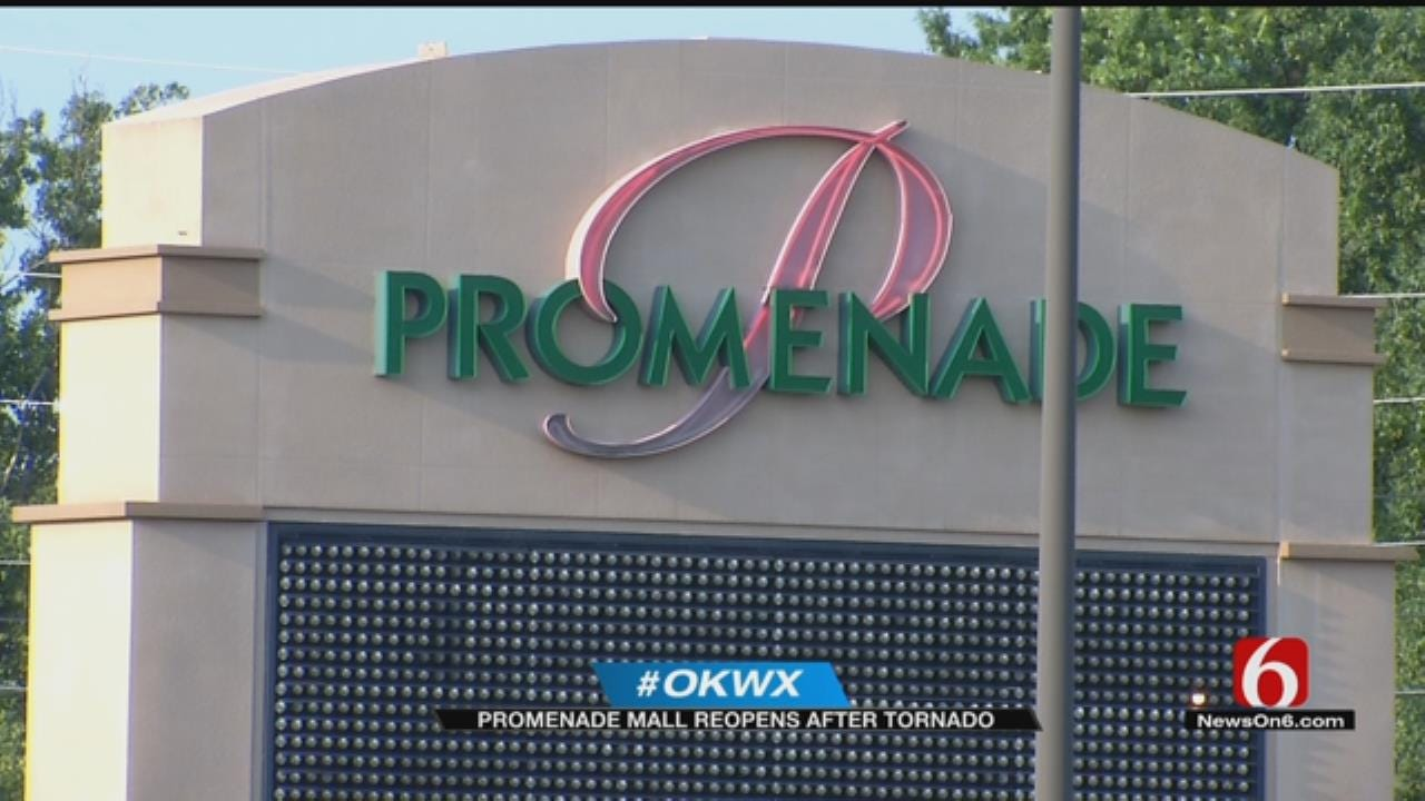 Promenade Mall Reopens After Weekend Tornadoes