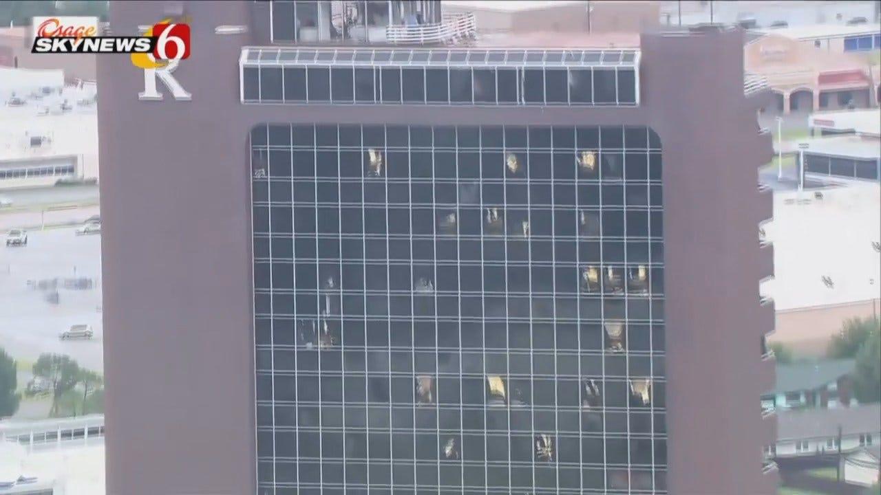WEB EXTRA: Remington Tower Tornado Damage