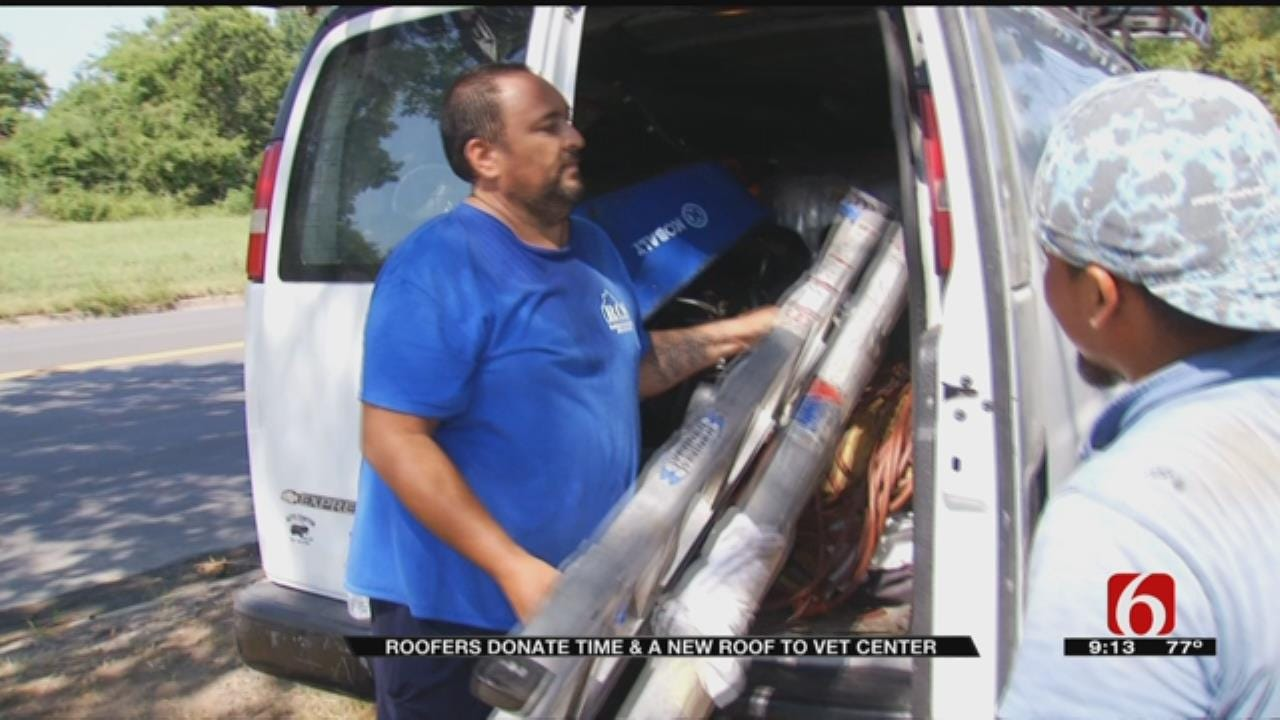 Company Builds New Roof For Muskogee Nonprofit Free Of Cost After Damage