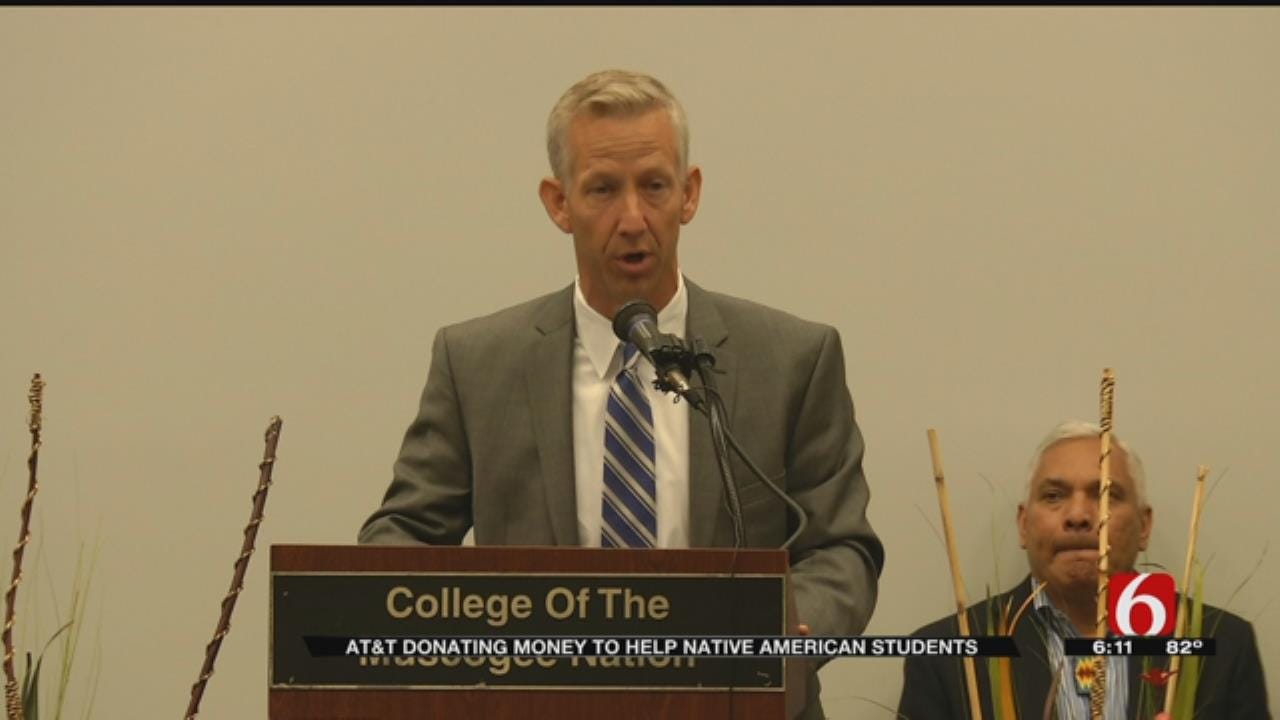AT&T Donates $600K To American Indian College Fund, Muscogee Nation