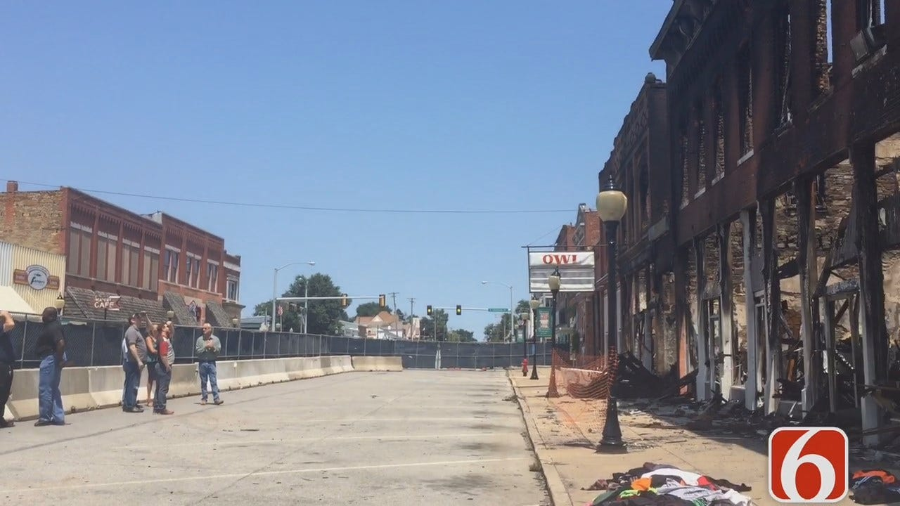 Amy Slanchik With Update On Downtown Wagoner Fire Damage