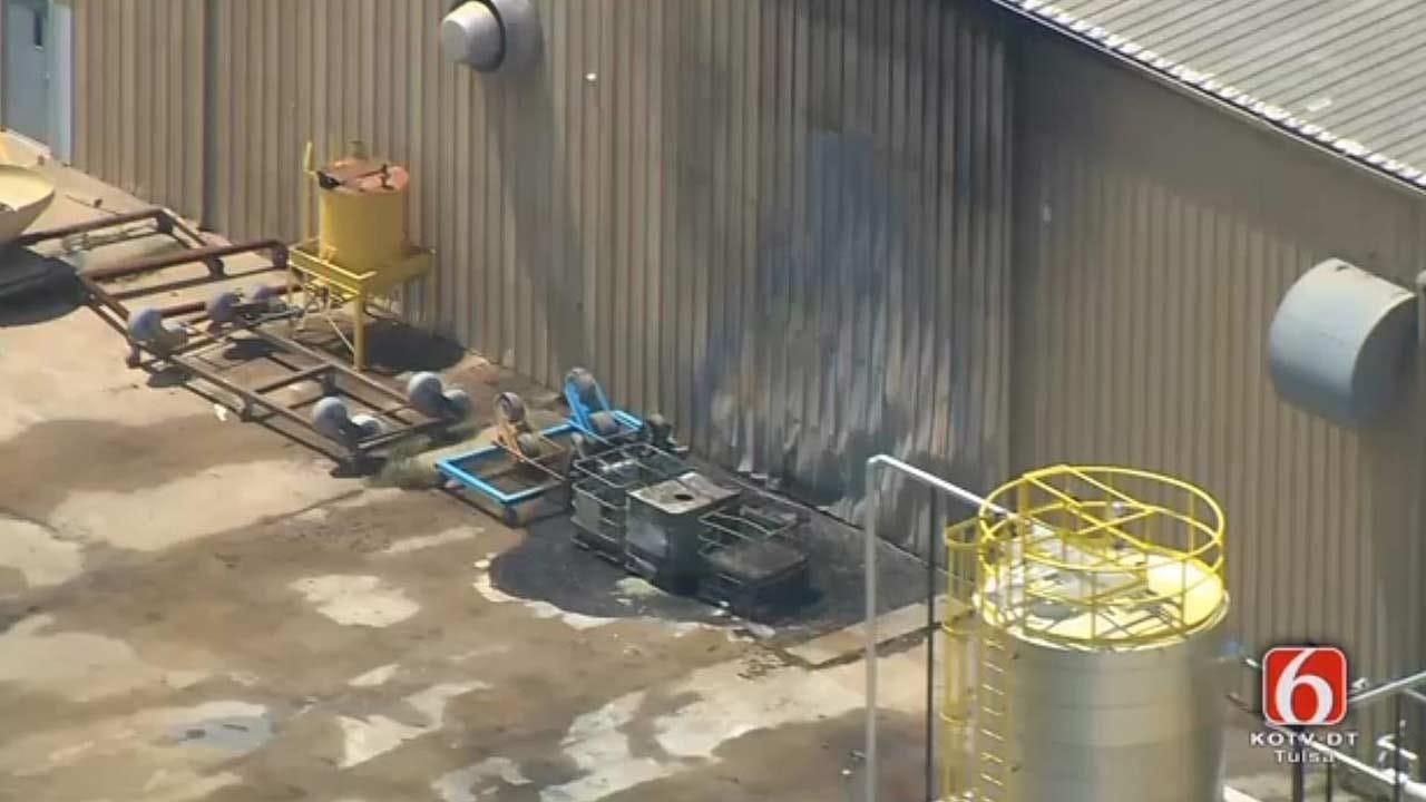 WEB EXTRA: Osage SkyNews 6 HD Video Of Tulsa Fire