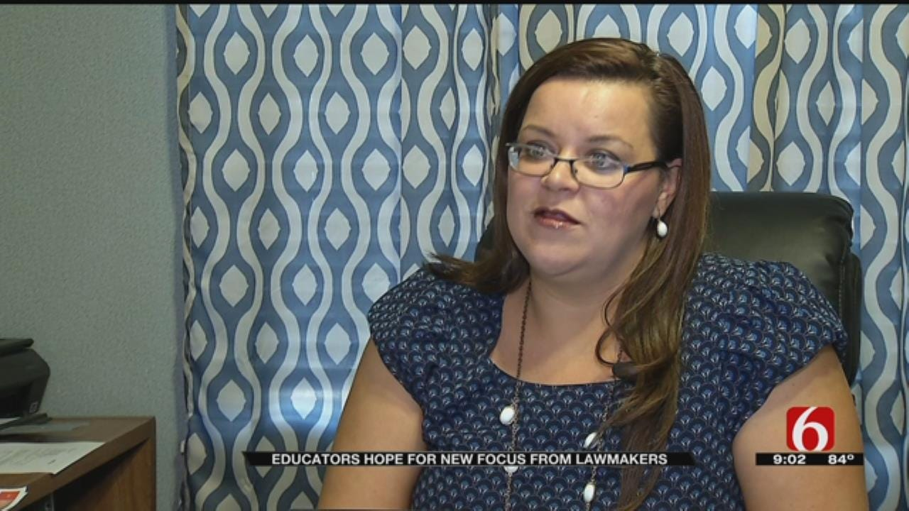 Tulsa Classroom Teachers Association VP Says Changes Must Be Made To State's Education System
