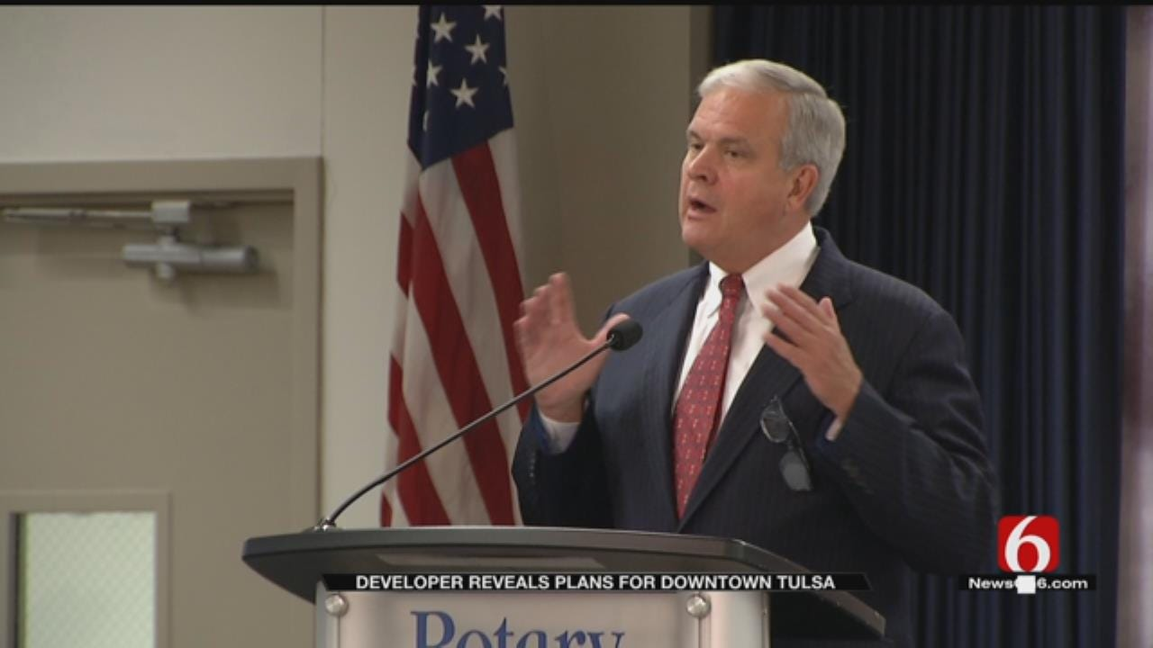 Tulsa Developer Has Big Plans For Historic Buildings