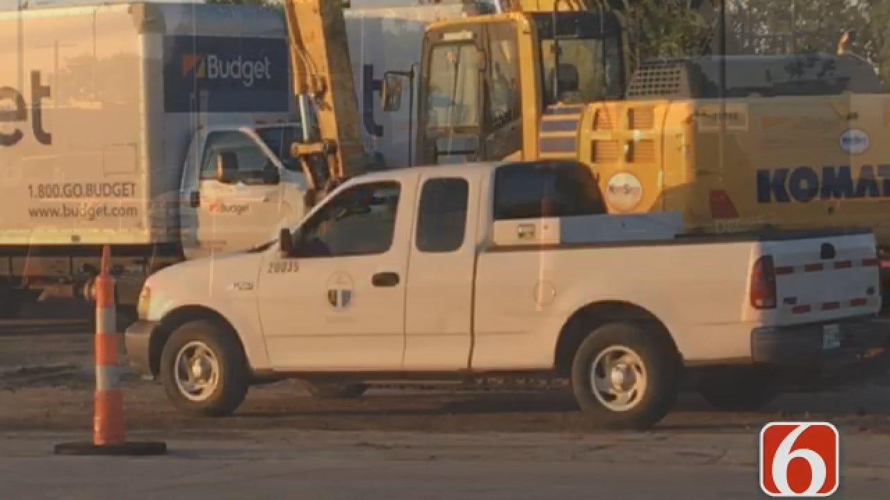 Joseph Holloway Says Workers Repairing Broken Tulsa Water Line