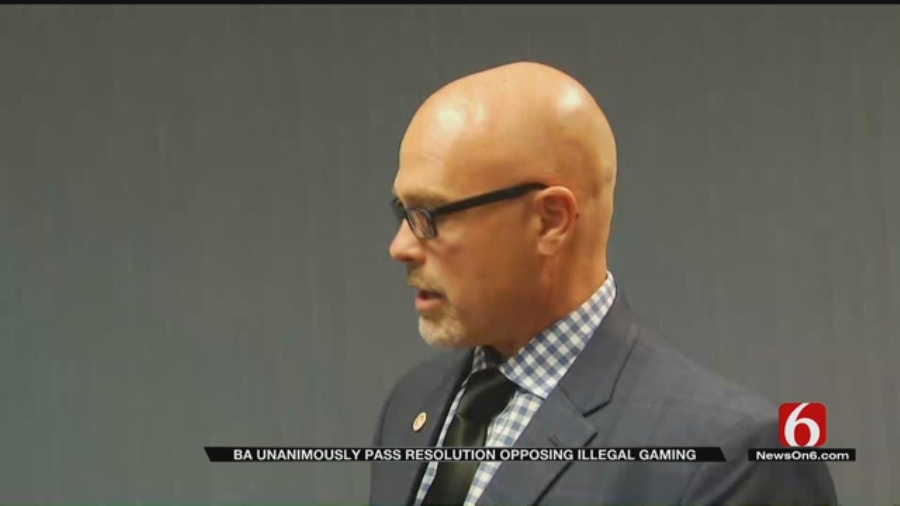 BA City Council Passes Resolution Opposing Illegal Gaming