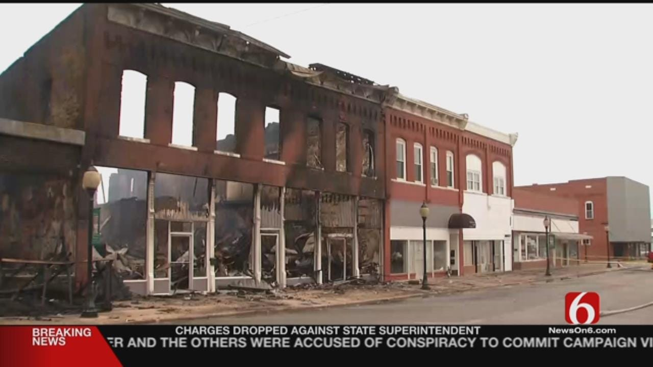 Wagoner Firefighters On Standby In Case Of 'Hot Spots'