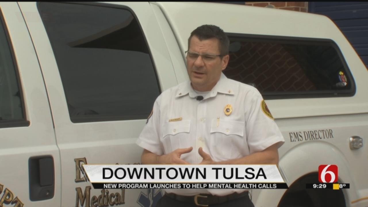 Tulsa Program Teaches First Responders How To Handle Mental Health Calls