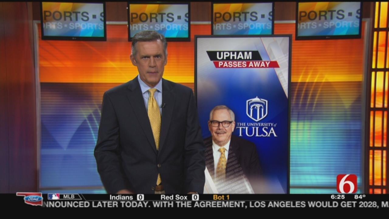 Former University Of Tulsa President Steadman Upham Dies