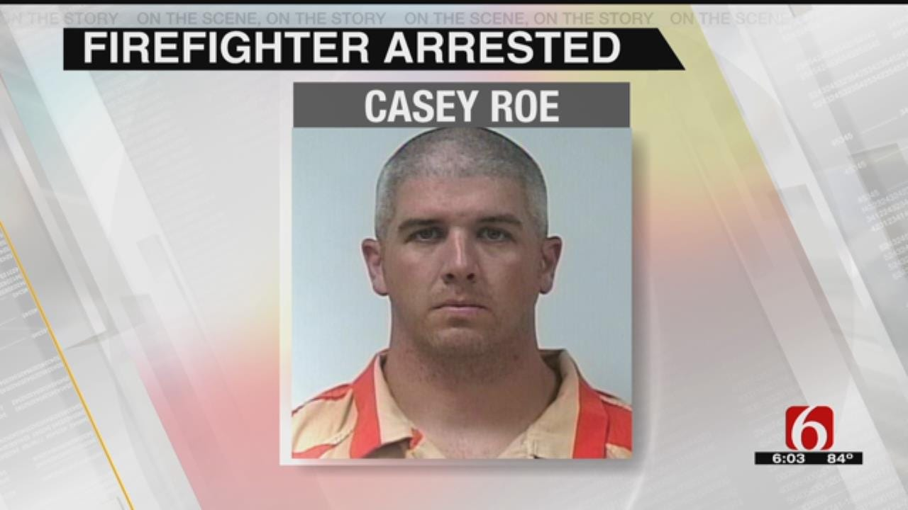 Owasso Firefighter Arrested, Accused Of Molesting 13-Year-Old Family Member