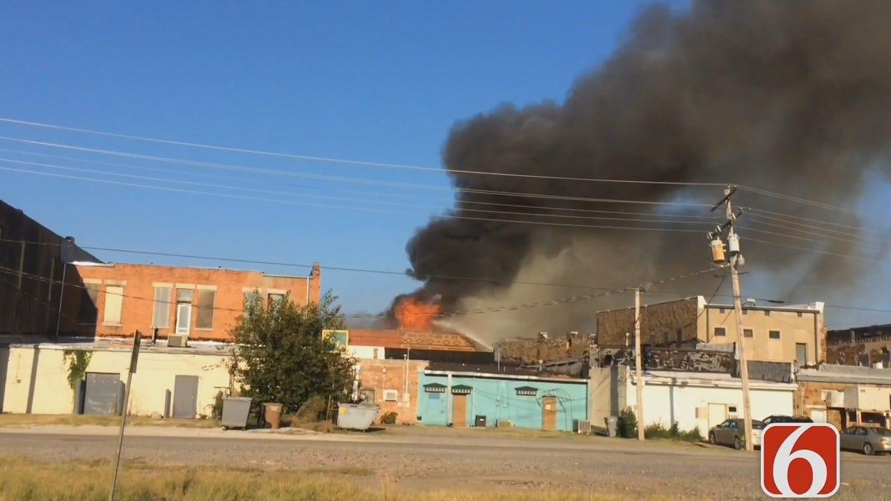 Katiera Winfrey: Wagoner Firefighters Battle Fires In Historic Downtown Buildings