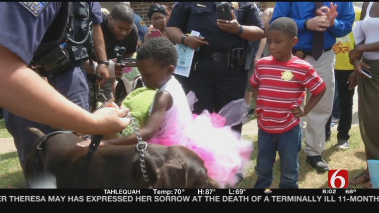 Honorary 5-Year-Old TPD Officer To Be Laid To Rest