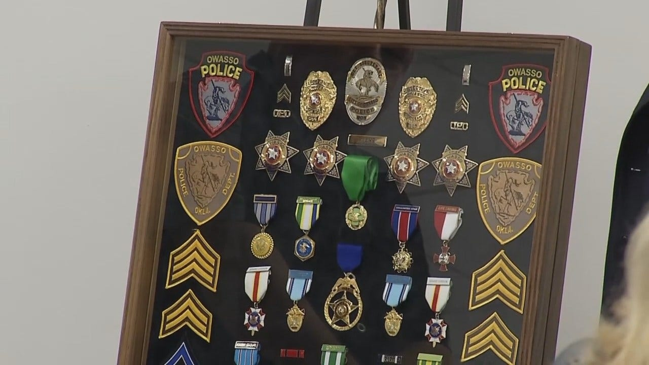 WEB EXTRA: Video From Owasso Police Detectives Retirement Party
