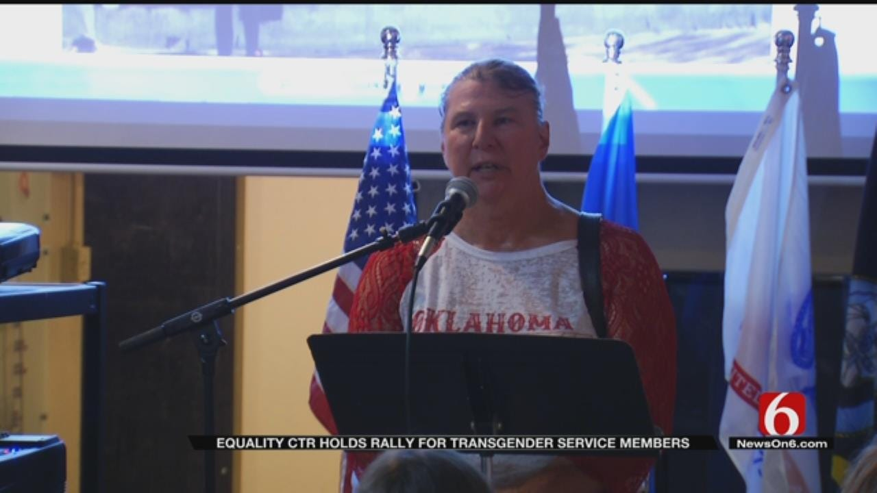Tulsa LGBT Community Supports Trans Service Members