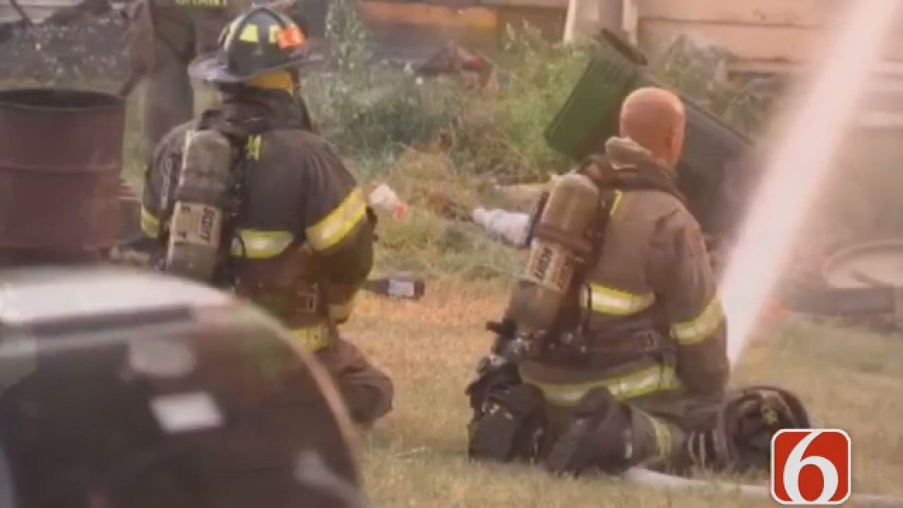 Dave Davis Reports Cause Of Sapulpa House Fire Remains Under Investigation